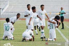 Harapan Timnas U-15 Indonesia ke final pupus setelah kalah dari Thailand