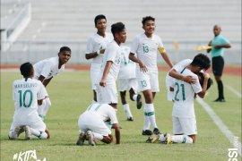 Timnas U-15 Indonesia puncaki klasemen grup Piala AFF usai taklukkan Filipina