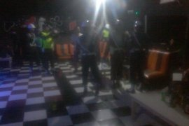 POM Lantamal razia tempat hiburan malam di Manado