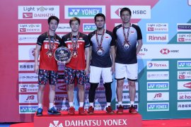 Minions raih hattrick Japan Open