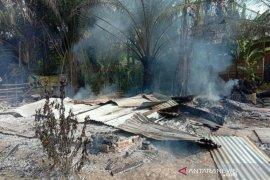 Rumah di Aceh Utara dan uang Rp10 juta ludes terbakar