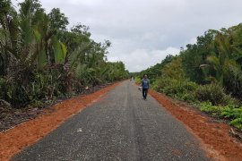 Jalan Kamboja Baru Pulau Maya mulai bagus