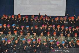 Tentara Indonesia dan Malaysia  latihan hadapi teroris