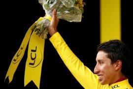 Bernal siap sebagai pebalap Kolombia pertama juarai Tour de France