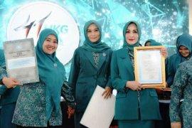 TP PKK Kota Bogor raih penghargaan nasional