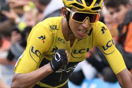 Egan Bernal pesepeda termuda juarai Tour de France