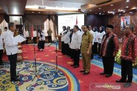 Sayid Irwan resmi menjadi Ketua Palang Merah Indonesia (PMI) Kaltim periode 2019-2024