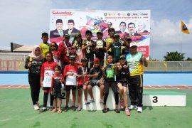 Tim Pelatda Kaltim Juara Umum Kejuaraan Sepatu Roda Bupati Kutim 1