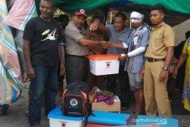 Pemkab Aceh Utara salurkan bantuan kepada korban rumah terbakar
