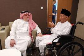 Kakek 94 tahun berangkat haji penuhi undangan Raja Salman