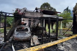 Polda usut kasus terbakarnya rumah wartawan di Aceh Tenggara