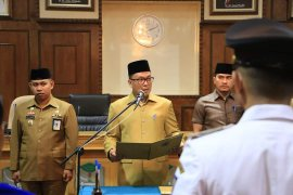 Wakil wali kota lantik 59 pejabat Pemkot Binjai
