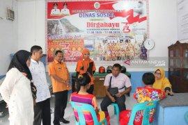 Rumah singgah PMKS Dinsos Tapteng pertama di Sumut