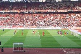 Gol pada masa perpanjangan waktu gagalkan kemenangan Persija atas Arema