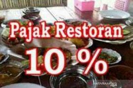 Penerimaan pajak restoran semakin meningkat