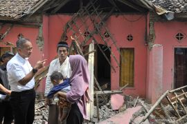 Mensos perkuat program kampung siaga bencana Pandeglang