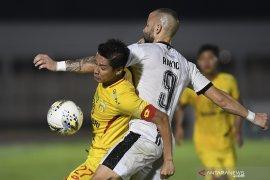 Kapten Bhayangkara FC Indra Kahfi  nilai Liga 1 masih ketat meski tak ada degradasi