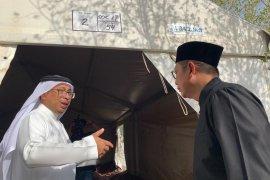 Penomoran tenda di Arafah-Mina  untuk hindari perselisihan antar-jamaah