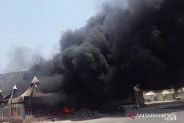 Kebakaran di Mina terjadi di tenda jamaah dari Asia Tengah-Selatan