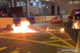 Bom rakitan meledak di rumah sakit Hong Kong