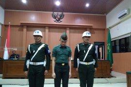 Di persidangan, saksi sebut oknum TNI pelaku mutilasi di Sumsel temperamental