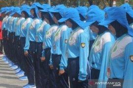 42 anggota Paskibra Penajam Paser Utara mulai digembleng