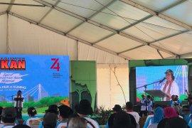 Iriana Jokowi lepasliarkan elang bondol di TWA Muka Kuning