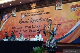 Dari Rakor KPU, banyak peraga kampanye tidak dimanfaatkan peserta Pemilu