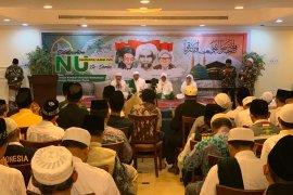 Peserta silaturahmi NU sedunia di Mekkah doakan Mbah Moen