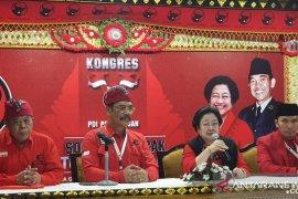 Megawati kembali dikukuhkan sebagai Ketua Umum PDIP