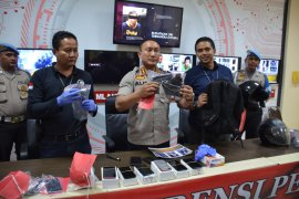 Tiga tersangka perampok toko HP di Cikupa ditangkap Polres Tangerang