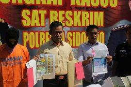 Polresta Sidoarjo berhasil ungkap kasus penjualan perumahan fiktif