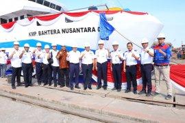 Bahtera Nusantara II KMP kapasitas terbesar di Maluku