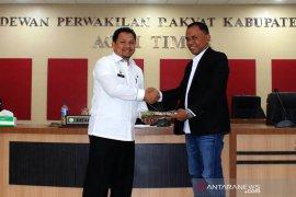 Sekda serahkan RAPB Kabupaten Aceh Timur tahun 2020