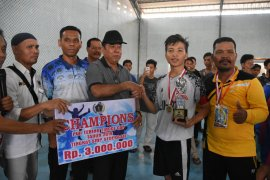 Wali Kota tutup turnamen Futsal PWI antarpelajar