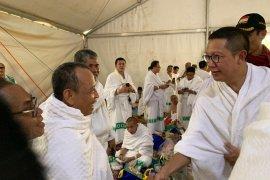 Amirul Hajj kunjungi tenda jamaah di Arafah