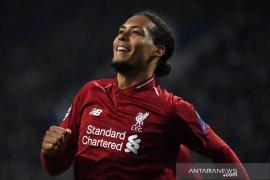Bek Liverpool Virgil raih gelar pemain terbaik Eropa