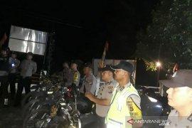 Polsek Air Gegas laksanakan pengamanan malam takbiran