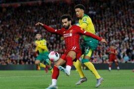 Liverpool bungkam Norwich pada laga pembuka Liga Premier