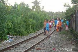 Dua IRT tersambar kereta api di Pematangsiantar, seorang tewas