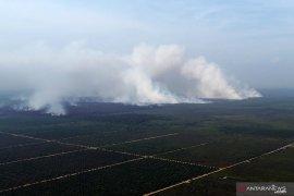 404 titik panas mengelilingi wilayah Kalimantan Barat