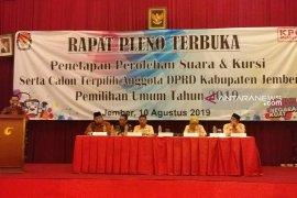 PKB dan PBB tidak hadiri rapat pleno penetapan suara, kursi dan anggota DPRD Jember
