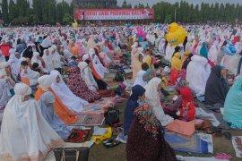 Ribuan umat Islam ikuti Shalat Idul Adha di Bali