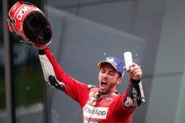 Andrea Dovizioso beberkan kunci kemenangan atas Marquez di GP Austria