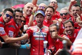 Hasil GP Austria, Dovizioso kukuhkan Ducati tak terkalahkan di Spielberg
