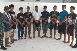Satgas Pamtas berhasil gagalkan pengiriman delapan TKI ilegal ke Malaysia