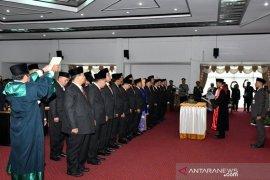 Resmi dilantik inilah daftar anggota DPRD HSS yang baru