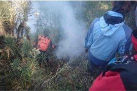 BPBD: Masih ada satu titik api di puncak Gunung Ciremai