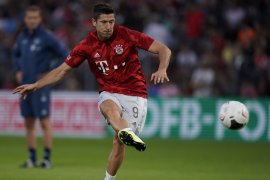 Bayern Muenchen maju ke babak kedua Piala Jerman