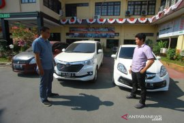 Satreskrim Polresta Banjarmasin amankan tiga mobil kasus penggelapan